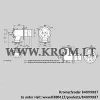 Burner for gas ZIO 165HB-200/135-(18D)D (84099887)
