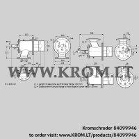 Burner for gas ZIO 165HBL-200/135-(24E)D (84099946)