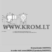 Burner for gas ZIO 200HB-700/635-(21)D (84099951)