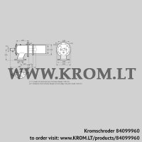 Burner for gas ZIC 200HB-100/135-(21E)D (84099960)