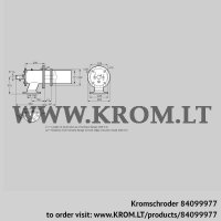 Burner for gas ZIC 165HB-900/935-(18)DB (84099977)