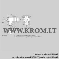 Burner for gas ZIO 165HD-1050/985-(15)D (84199003)