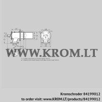Burner for gas ZIC 165RB-700/735-(17)D (84199012)