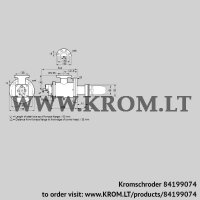 Burner for gas BICW 65HB-100/135-(34)G (84199074)