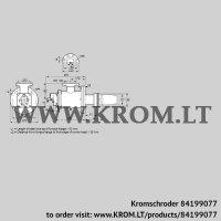 Burner for gas BICW 125HB-100/135-(2)F (84199077)