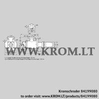 Burner for gas BICW 140HB-100/135-(26)F (84199080)