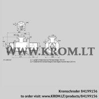 Burner for gas BIOW 140HBL-300/235-(44)F (84199156)
