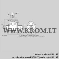 Burner for gas BIOW 125HB-300/235-(2)F (84199157)