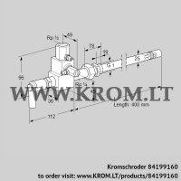 Pilot burner ZMI 25TG400N (84199160)