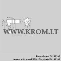 Burner for gas ZIC 200HB-550/585-(21)D (84199168)