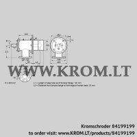 Burner for gas ZIOW 165HB-100/35-(18)E (84199199)