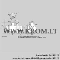 Burner for gas BIOW 125HB-600/535-(2)F (84199222)