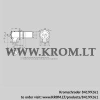 Burner for gas ZIC 200RB-850/885-(20)D (84199261)