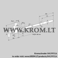 Pilot burner ZMIC 28D400R (84199316)
