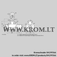 Burner for gas BIOW 65KB-250/235-(46)E (84199366)