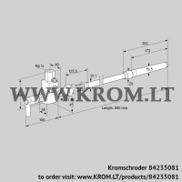 Pilot burner ZMIC 28B800RK (84235081)