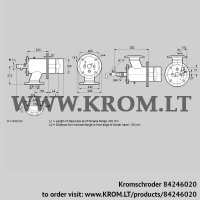 Burner for gas ZIO 165HDL-200/135-(29)D (84246020)