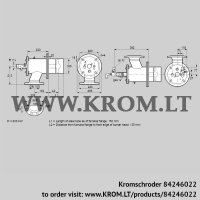 Burner for gas ZIO 165RBL-150/135-(20)D (84246022)