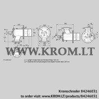 Burner for gas ZIO 165HBL-300/235-(24)D (84246031)