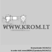 Burner for gas ZIC 165RM-0/235-(26)D (84246512)