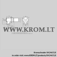 Burner for gas ZIC 165HB-0/35-(18)D (84246518)