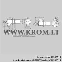 Burner for gas ZIC 165HBL-0/35-(24)D (84246519)