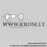 Burner for gas ZIC 165RB-0/335-(17)D (84246520)