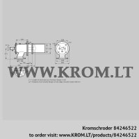 Burner for gas ZIC 165RM-0/335-(26)D (84246522)