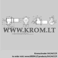 Burner for gas ZIC 165HBL-100/135-(24)D (84246529)