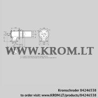 Burner for gas ZIC 165HB-200/235-(18)D (84246538)