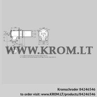 Burner for gas ZIC 165RB-300/335-(17)D (84246546)