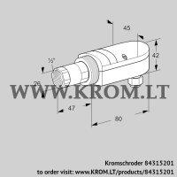 UV flame sensor UVS 10L0G1 (84315201)
