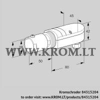 UV flame sensor UVS 10D4G1 (84315204)