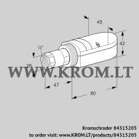 UV flame sensor UVS 10D2 (84315205)