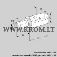 UV flame sensor UVS 10L3 (84315208)