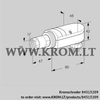 UV flame sensor UVS 10D0P2 (84315209)