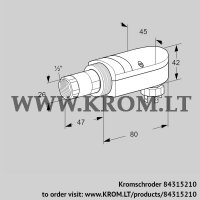 UV flame sensor UVS 10L0P2 (84315210)