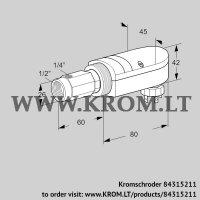 UV flame sensor UVS 10D1P2 (84315211)
