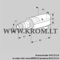 UV flame sensor UVS 10D5G1 (84315214)