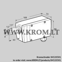 UV flame sensor UVC 1D1G1A (84320301)