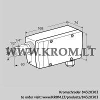 UV flame sensor UVC 1D3G1A (84320303)