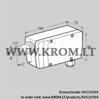 UV flame sensor UVC 1L0G1A (84320304)