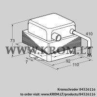 Ignition transformer TZI 7,5-20/33W (84326116)