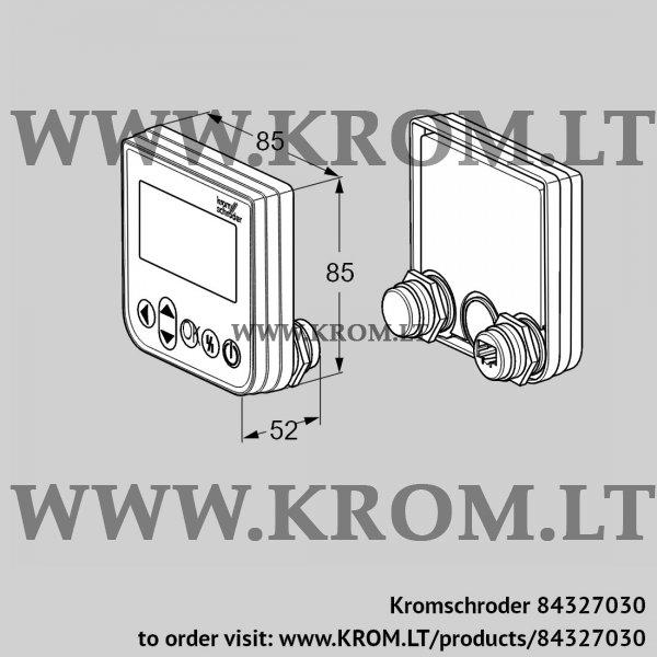 Kromschroder Operator-control unit OCU 500-1, 84327030