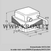 Ignition transformer TZI 7,5-12/100R (84331384)