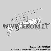 UV flame sensor UVS 5 G1 (84333031)