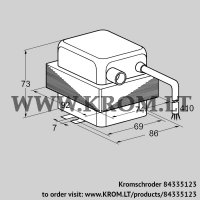 Ignition transformer TZI 7-25/20R (84335123)