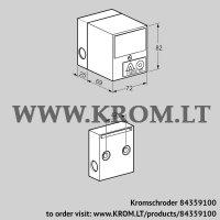Flame detector IFW 15T-N (84359100)