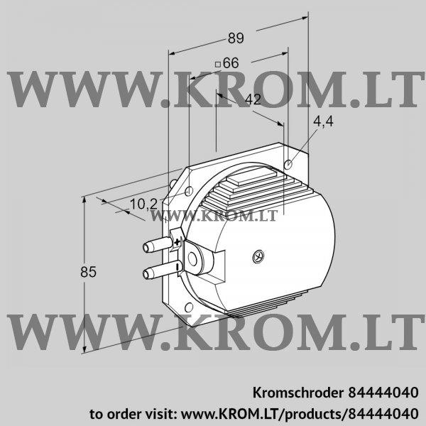 Kromschroder Pressure switch for air DL 4ET-1, 84444040