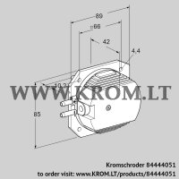Pressure switch for air DL 14ETG-1 (84444051)